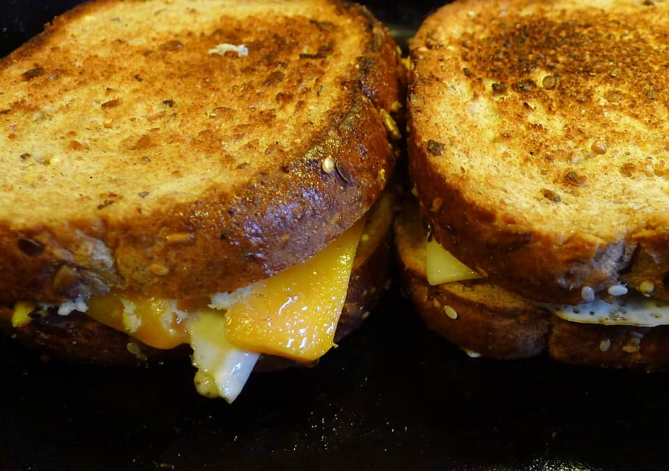 Different Recipes of Grilled Cheese Sandwich